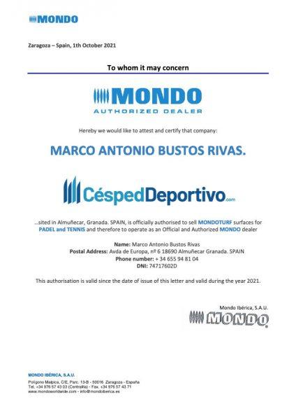 certificado-mondo-distribuidor-cesped-artificial-1