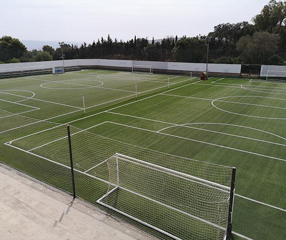 empresa profesional instalacion cesped para campos de futbol