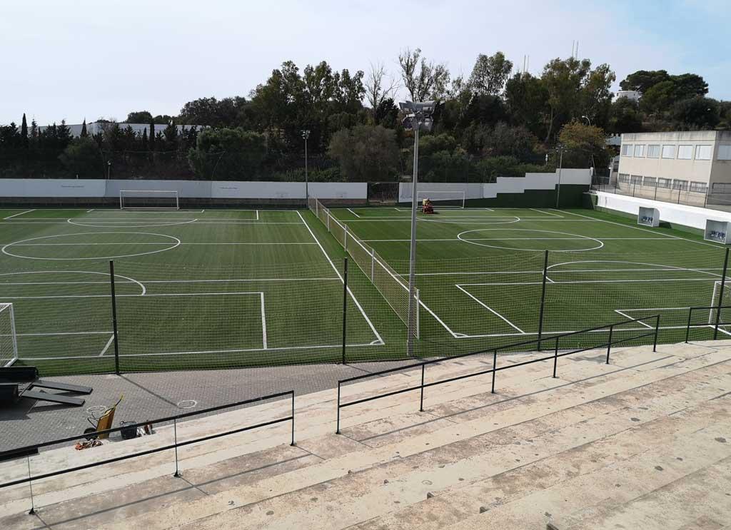 mejor empresa instaladora de cesped artificial campo de futbol